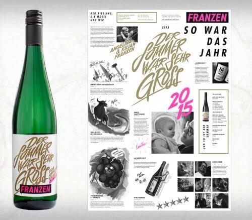 """Riesling """"Der Sommer war sehr groß"""" - Weingut Kilian Franzen"""